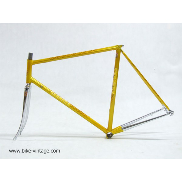 for sell vintage frame and fork Carrera columbus SLX, steel, size 56cm