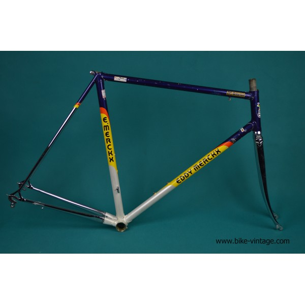 Vintage Eddy Merckx Criterium Frame and Fork Columbus SLX campagnolo ...